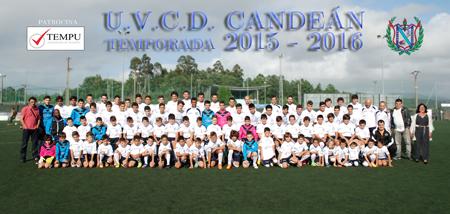 Tempu, patrocinador del Club de Fútbol U.V.C.D. Candeán (Vigo)