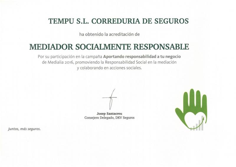 Un año más, Mediadores Socialmente Responsables