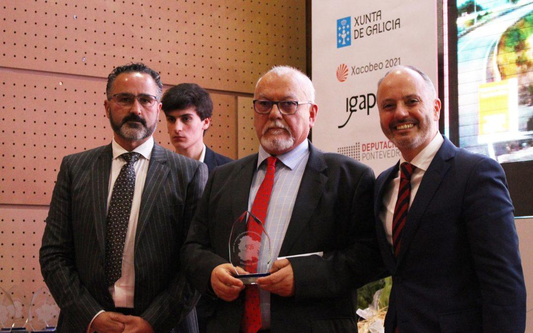 """Enrique Ubeira galardonado en la gala de """"Autónomos Distinguidos"""""""